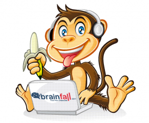 BrainFall Monkey