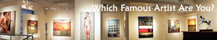 Which Famous Artist Are You?