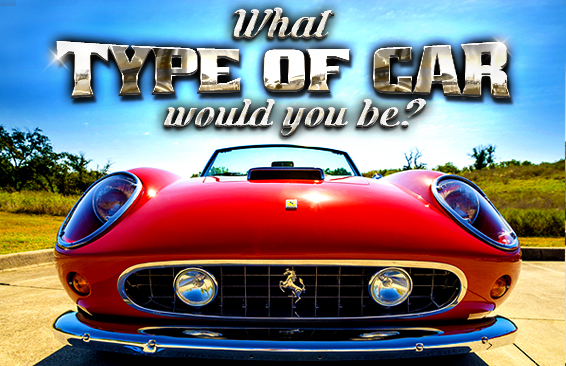 Wot Car: What Type Of Car Would You Be?