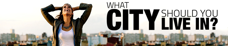 What City Should You Live In?